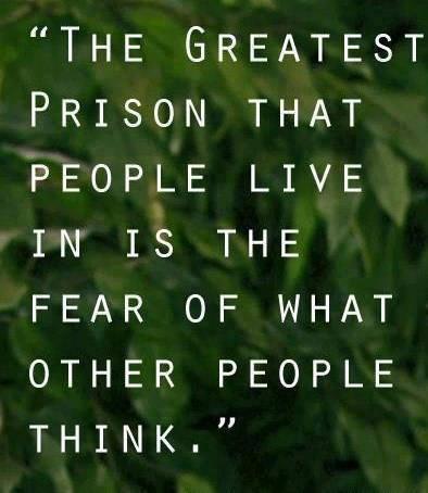 the prison you live in
