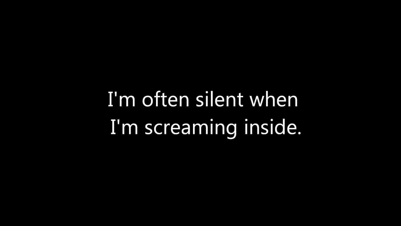 [I am often silent while screaming with anxiety insideata='featured_image_title']