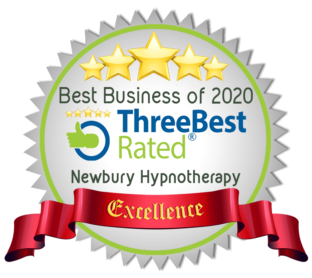independently judged one of the 3 best hypnotherapists in the area